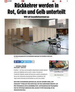 Coronavirus2 245x300 - Aislamiento del coronavirus con biombos Ropimex en Bild Zeitung (Alemania)