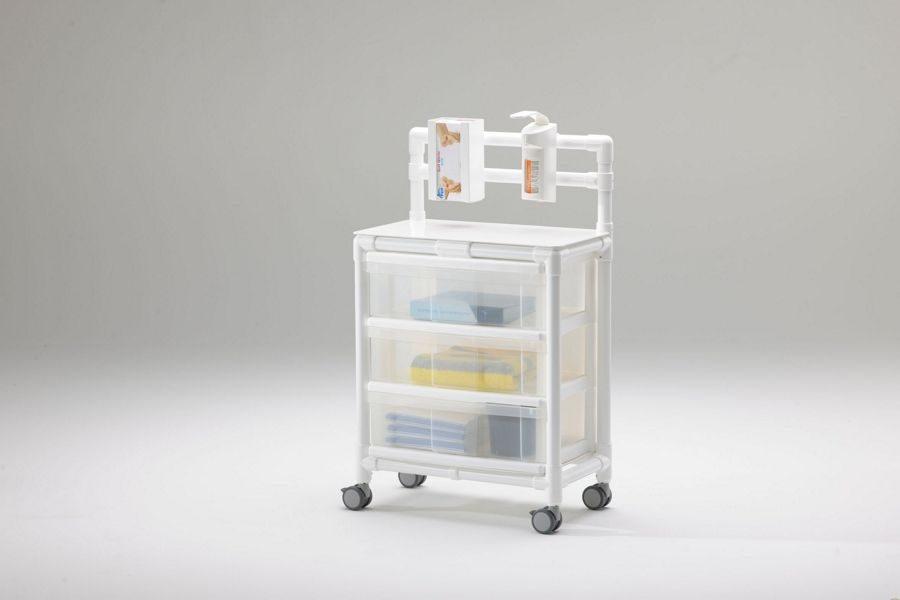 HGW 100 carro para esclusas de aislamiento en infecciones nosocomiales e infecciones hospitalarias
